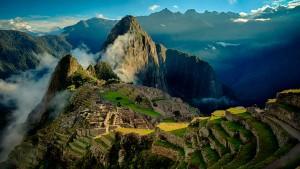 Machu Picchu traditional view