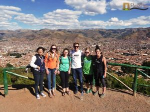 Cusco city view