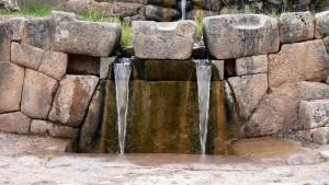 Tambomachay Fountain view