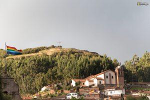 Cusco- San cristobal - Saqsayhuaman view