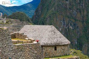 Inca House at Machu Picchu