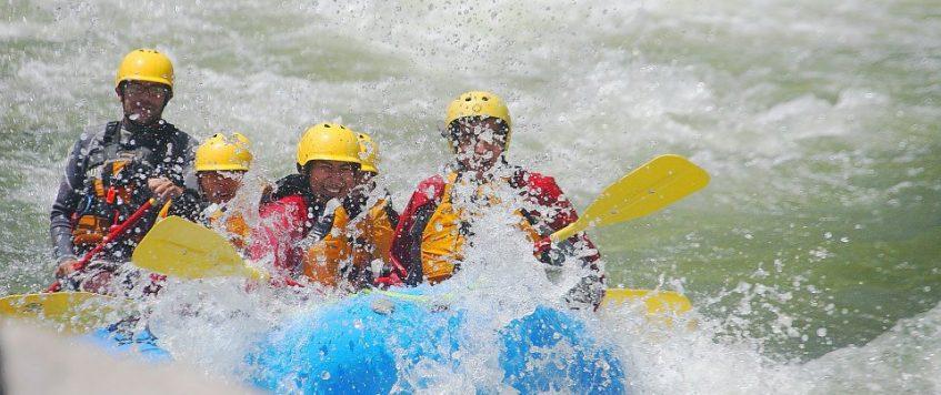 Rafting rio Chili