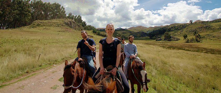 4 Ruinas a caballo