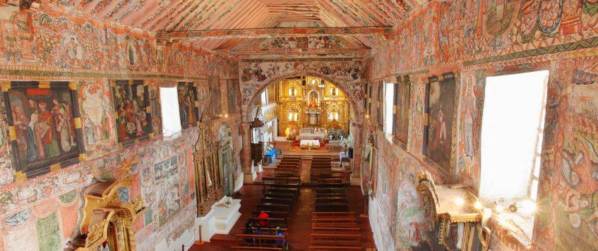 Andahuaylillas Interior