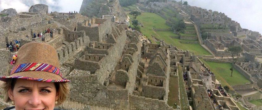 At Machu Picchu!