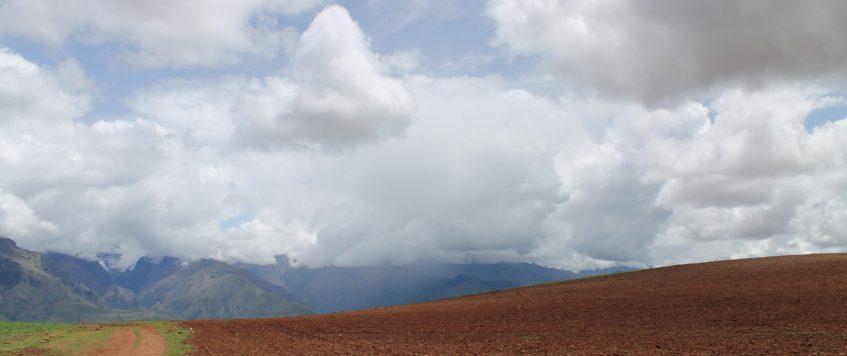 Farm field in Maras Cusco
