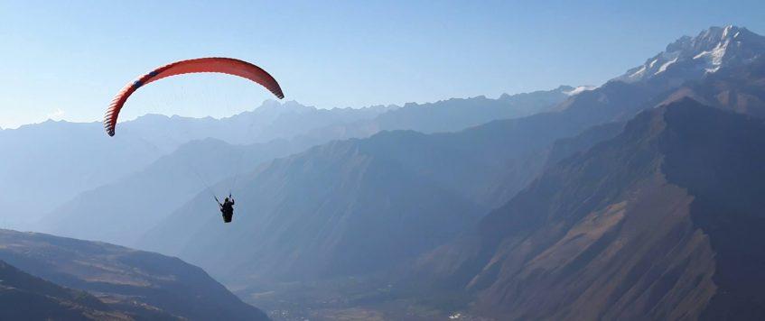 Parapente en Pisaq-Cusco