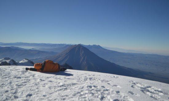Chachani Volcano Climb