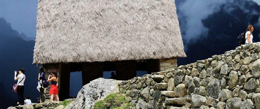 The guardian house – Machu Picchu